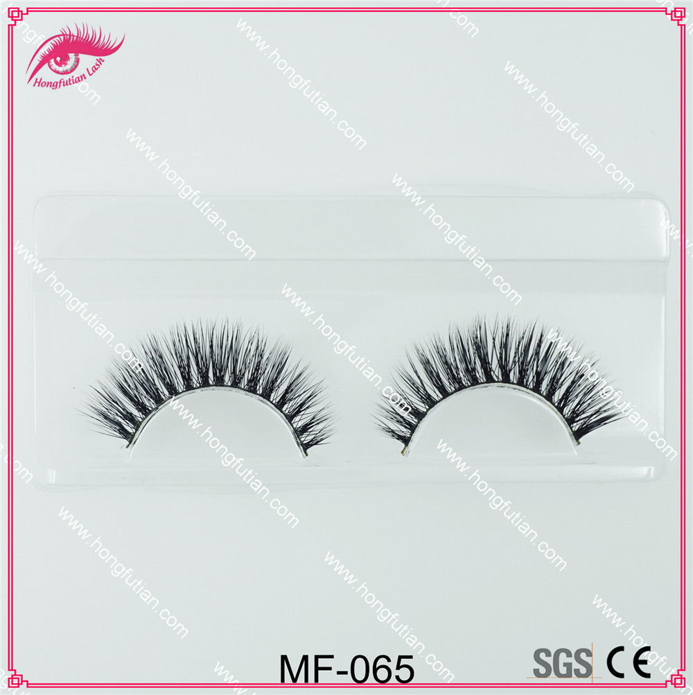 100% Faux Mink Lashes Real Mink Fur Eyelashes