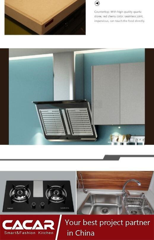 2017 New Design Modern Style Special Nano-Panel Kitchen Cabinet (CA01-02) pictures & photos