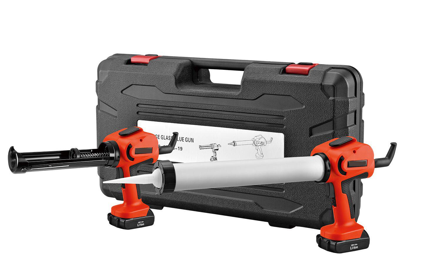 Cordless Power Caulk Adhesive Gun 18 Volt Heavy Duty Tool Variable Speed NEW