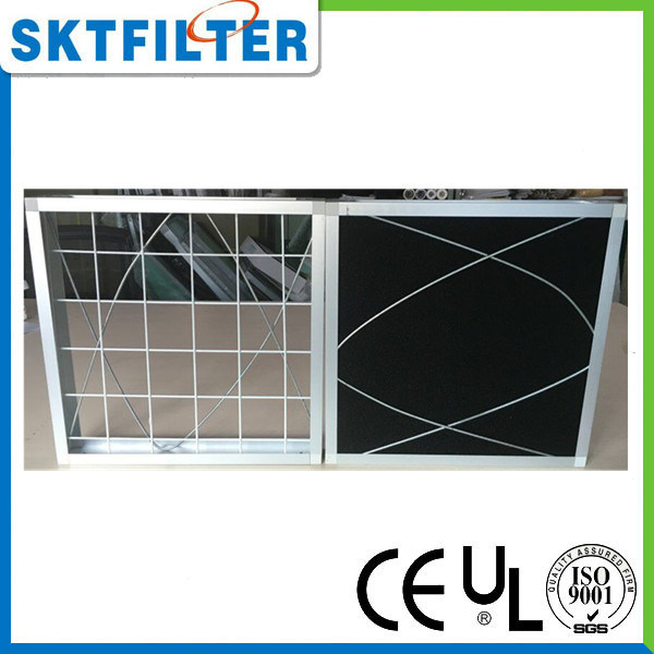 Carbon Foam Filter with Aluminum Frame pictures & photos