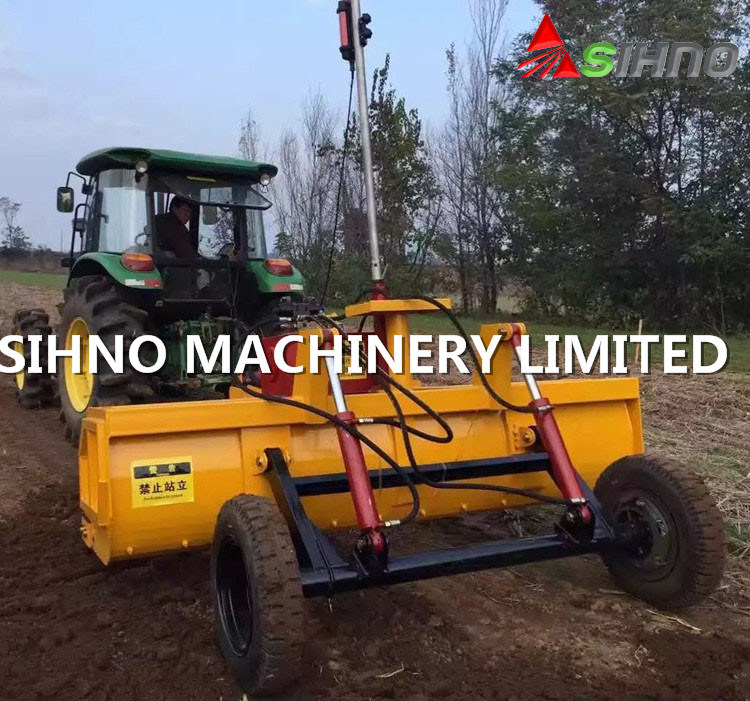 [Hot Item] 2 5-4 5m Laser Land Leveler for Tractor, Auto Leveling Land  Scraper