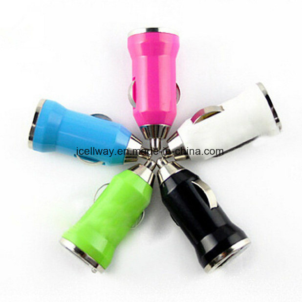 USB Car Charger Cigarette Lighter Adapter with Voltage Display pictures & photos