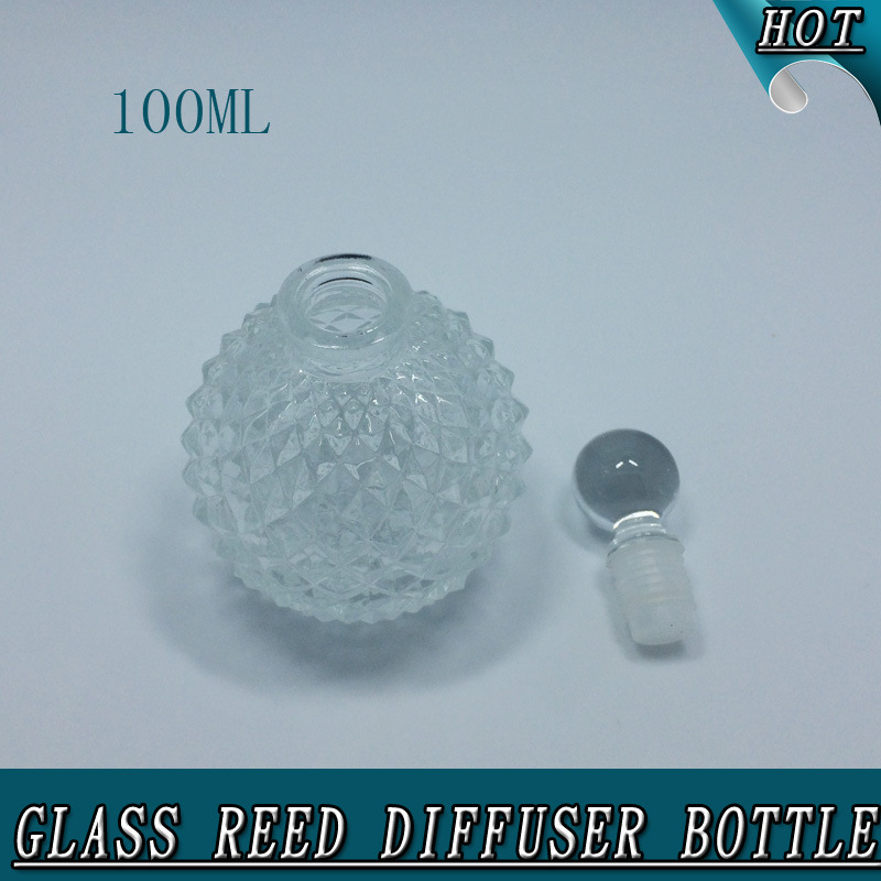 100ml Sphere Luxury Aroma Oil Reed Diffuser Glass Bottle