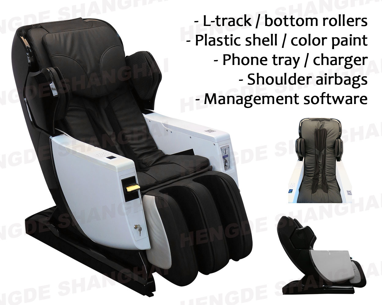 Airport Paypal Credit Card Coin Bill Vending Massage Chair pictures & photos