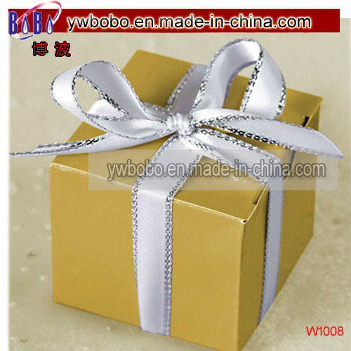 Gift Box Gold Wedding Favor Boxes 100ct Birthday Party Products W1008