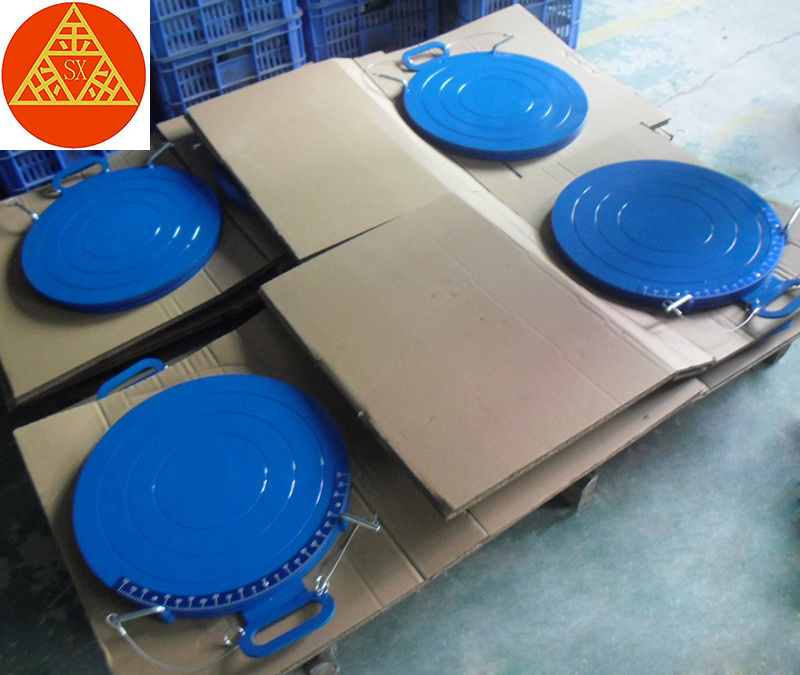 Truck Passenger Car Bus Rotary Rotating Mechanical Wheel Alignment Wheel Aligner Turnplate Turntable Sx389