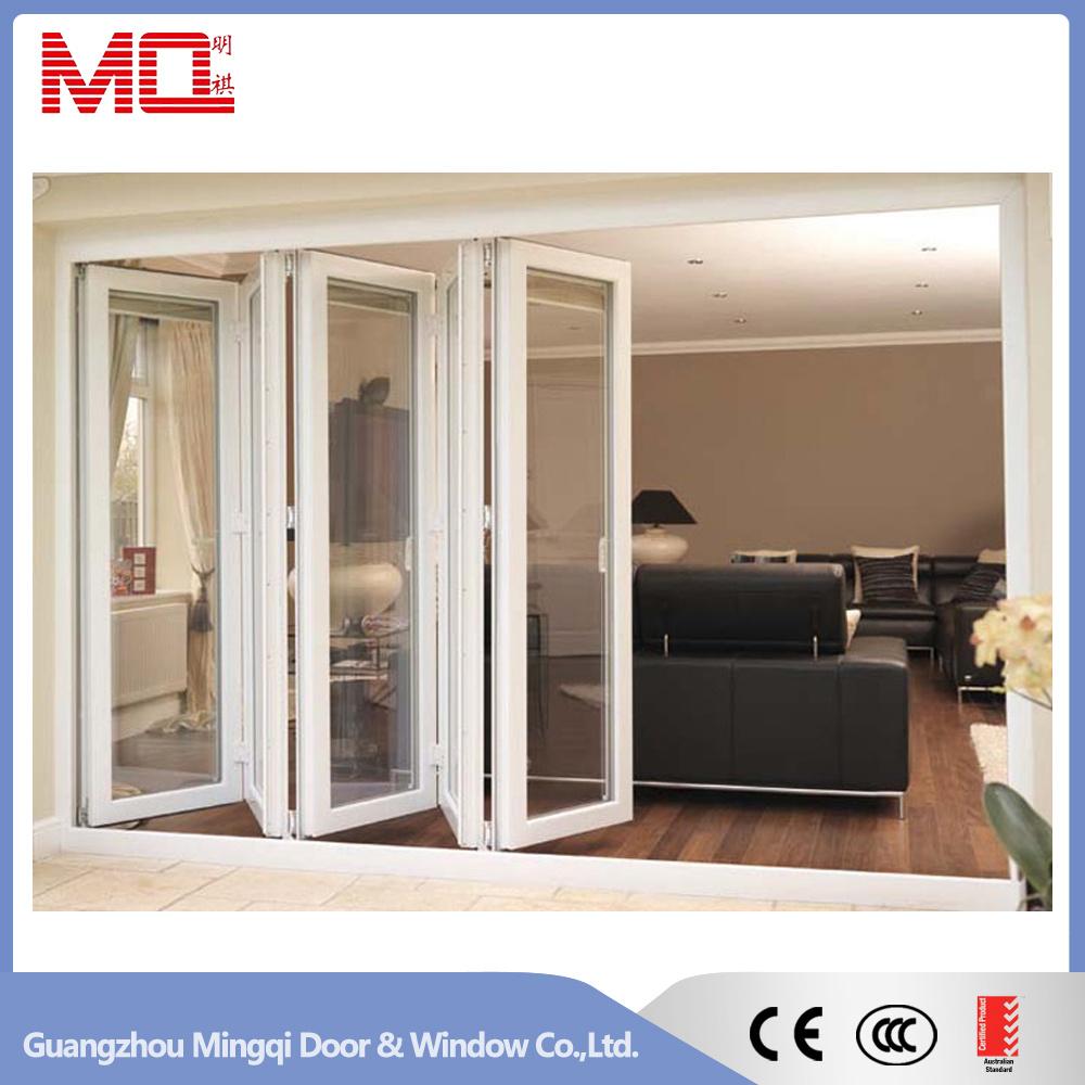 China Aluminum Sliding Folding Door Soundproof Accordion Door