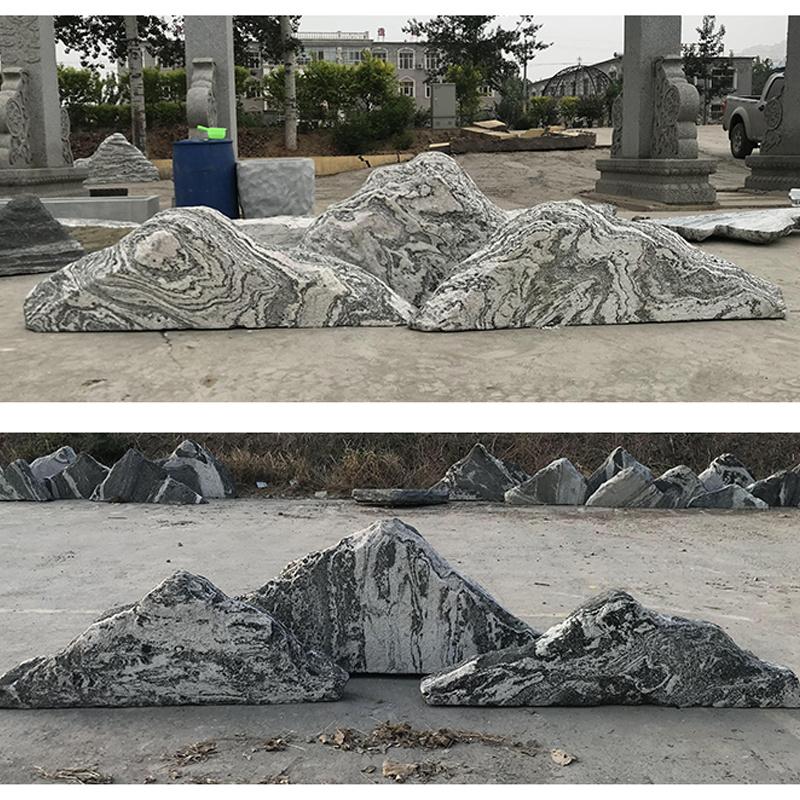 China Grey Granite Garden Stone Boulders Landscaping Decor Rock Boulders China Garden Stone Decorative