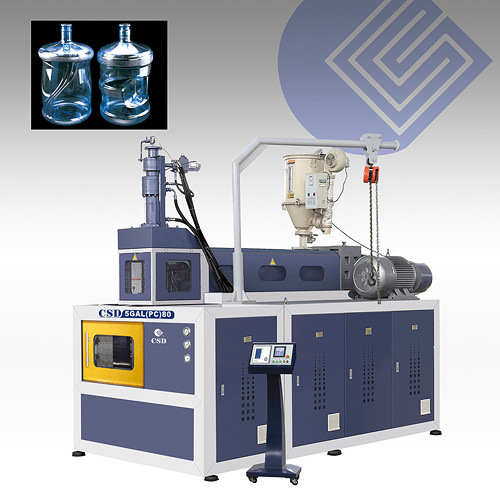 CE Approved with PC 5-Gallon Blow Molding Machine (CSD-5GAL(PC)80)