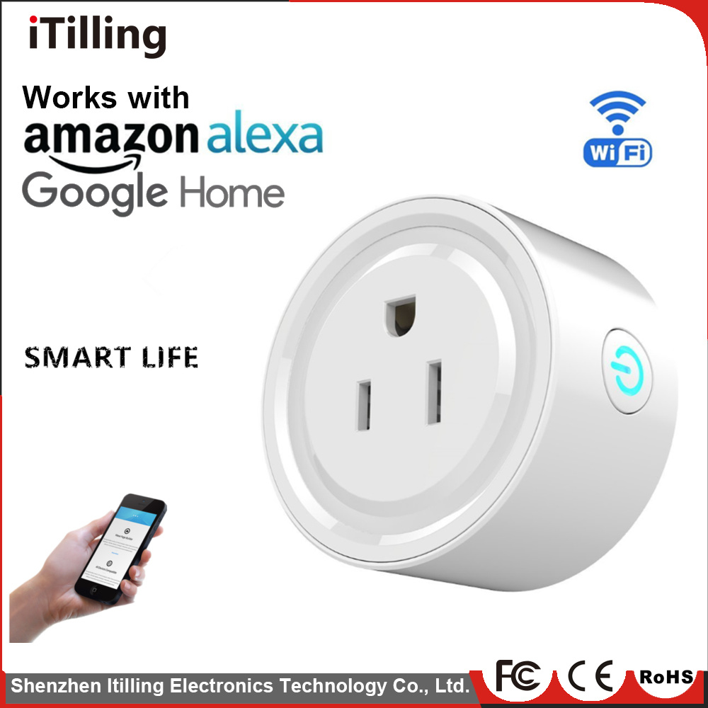 [Hot Item] Ce Smart Socket No Hub Required, Wi-Fi Control Your Devices From  Anywhere, Work for Alexa WiFi Smart Plug