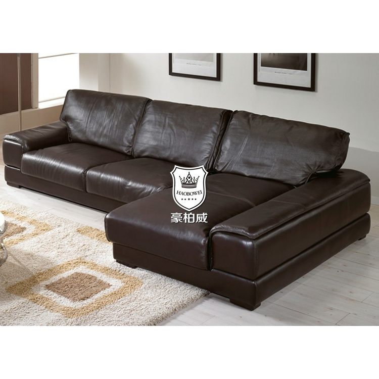 China Caw Leather Sofa Slovakia Filled