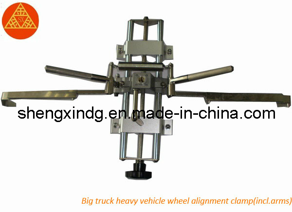 Heavy Duty Bus Truck Passenger Car Auto Vehicle Wheel Alignment Wheel Aligner Adaptor Adapter Localizer Clip Lock Clamp Clamper (JT006G)