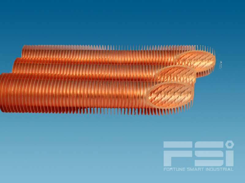 Medium Copper Finned Tube 811