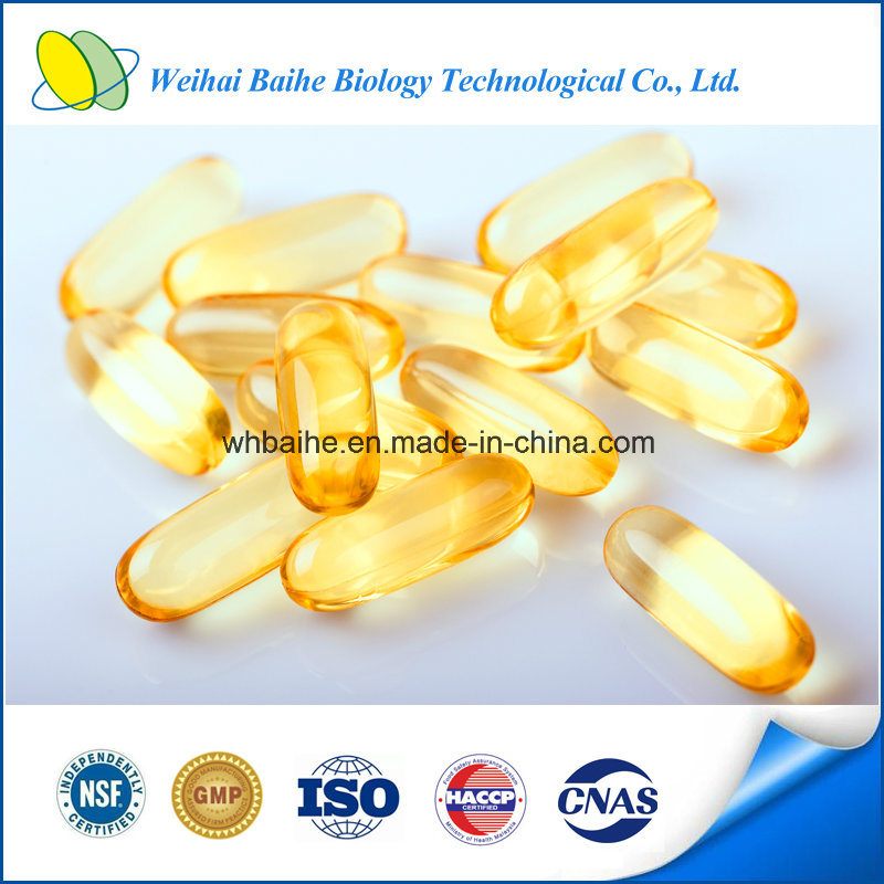 FDA/ISO Certified Health Food Supplement Pumpkin Seed Oil Capsule pictures & photos