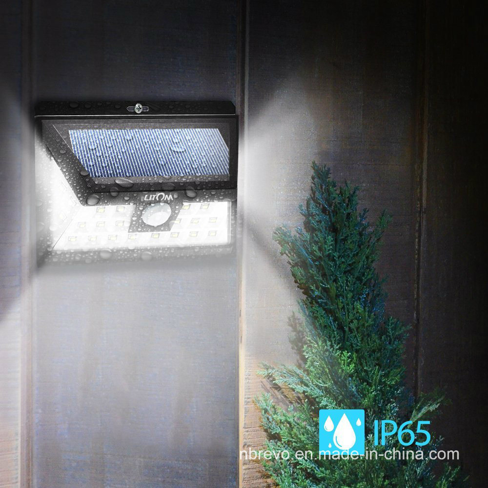 24 LED Waterproof Solar PIR Motion Sensor Garden Light (RS2029) pictures & photos