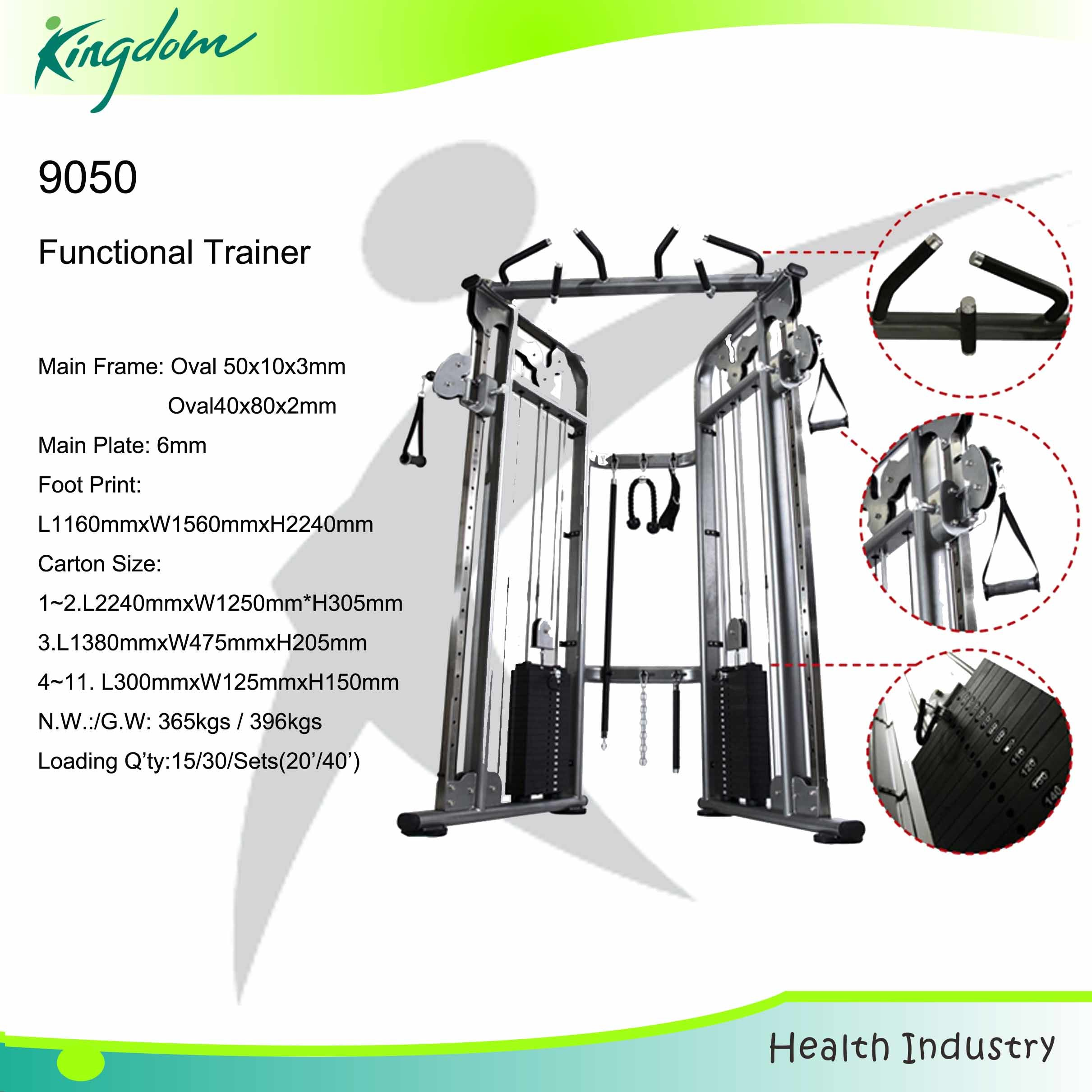 Commercial Functional Trainer/Fitness Equipment/Gym Equipment/Body Building Equipment/Strength Equipment Functional Trainer