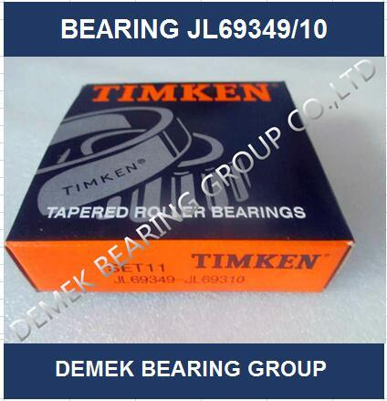 Hot Sell Timken Inch Taper Roller Bearing Jl69349/Jl69310 Set11 pictures & photos
