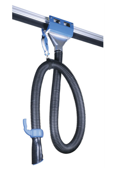 Hot Item Auto Vehicle Exhaust Hose Reel Removal System With Ce