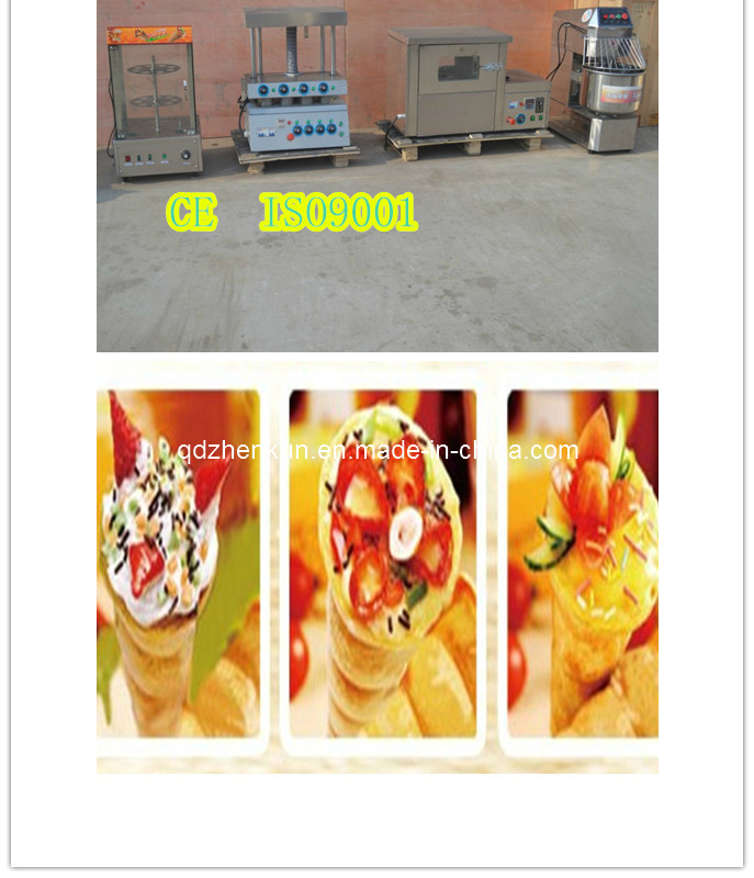 Pizza Cone Making Machine Line