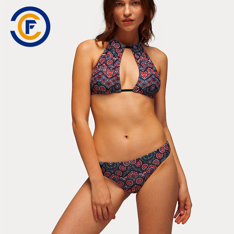 China New Style Fashion Sexy Patterned Bikini Lady Swimwear China Swimwear Bikini