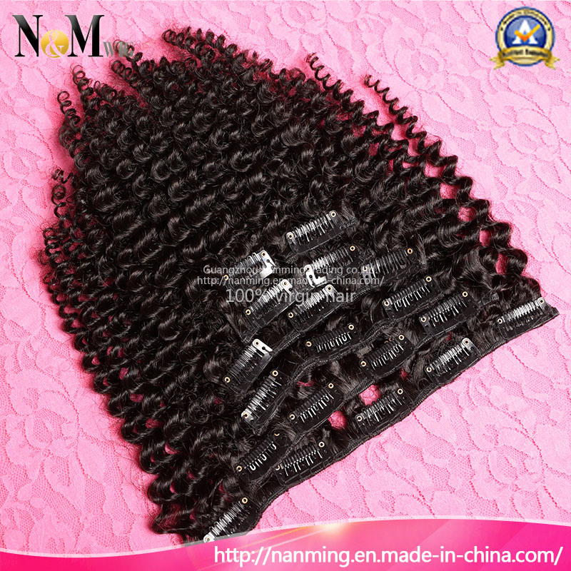 China Plastic Hair Clips Hand Tied 7pcsset 120gset African