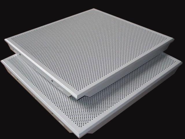 China Perforated Aluminum Acoustic False Ceiling Tiles