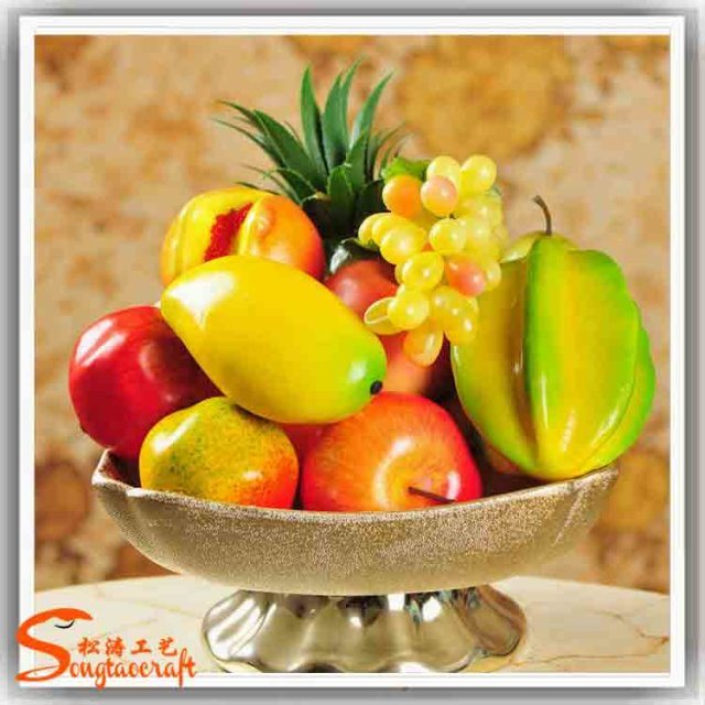 China Decoration Wholesale Artificial Plastic Fake Dried Fruit ...