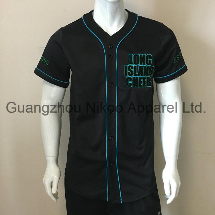 finest selection 0af64 c5263 [Hot Item] High Quality Custom Embroidery Logo Baseball Jersey
