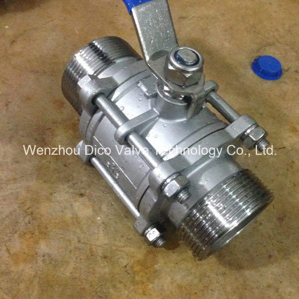 Heavy Type Female 3PC Ball Valve