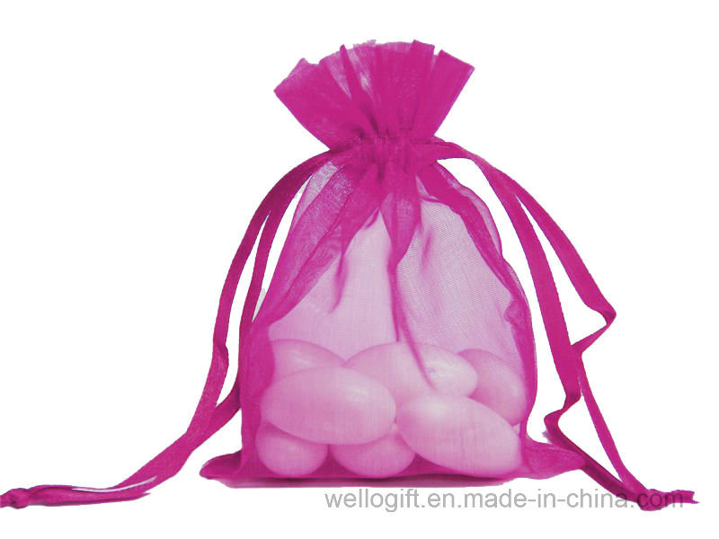 Sheer Drawstring Organza Bag pictures & photos