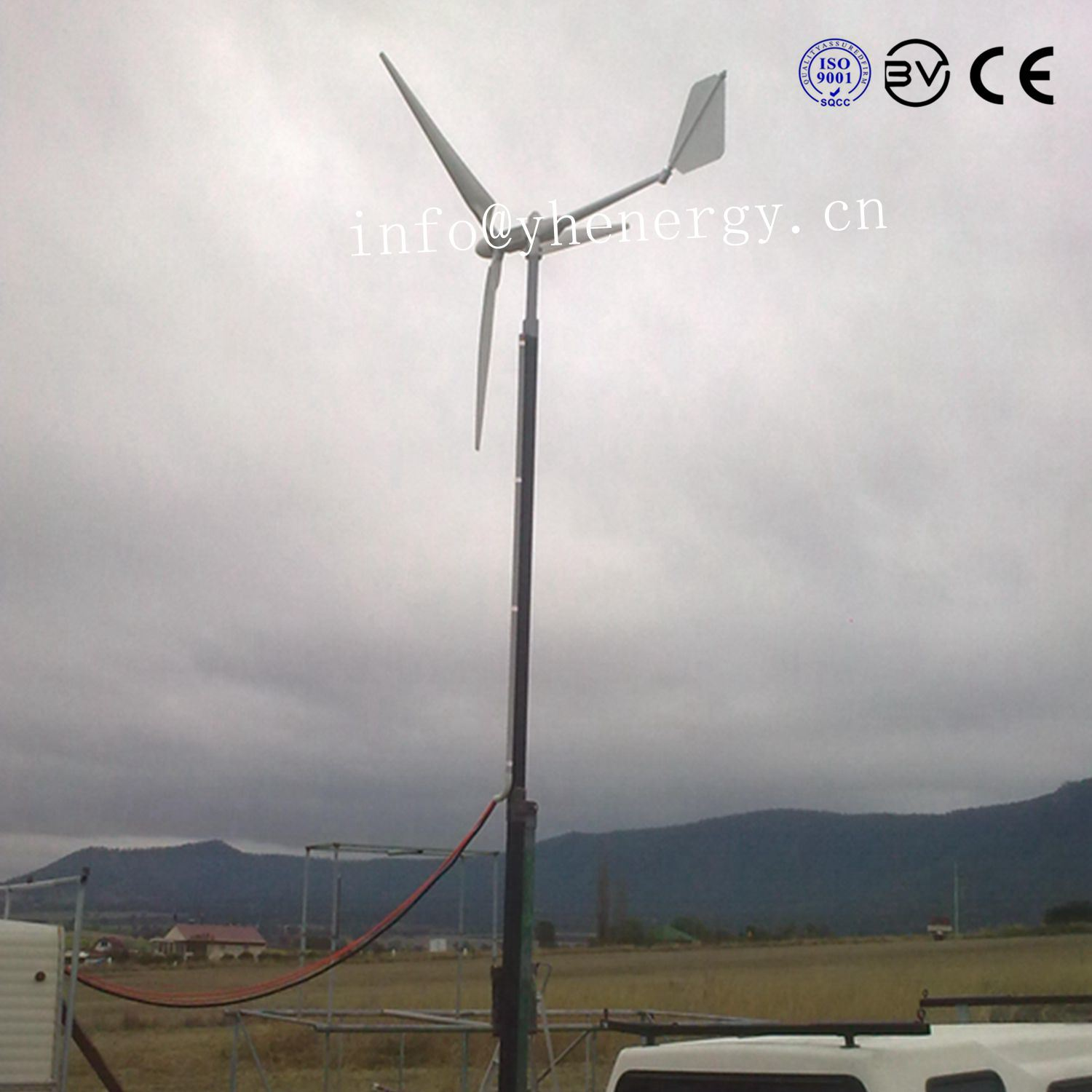 2kw Wind Turbine / Wind Power Generator System for Home Use pictures & photos