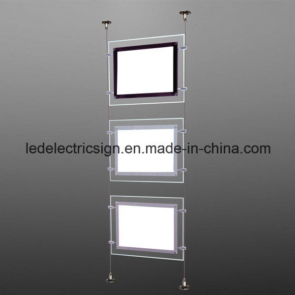Real Estate Crystal Ceiling Light with Acrylic Sheet Acrylic LED Light Box pictures & photos