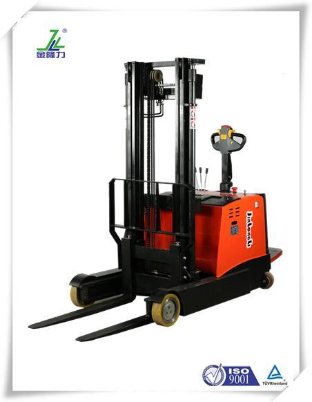 China Factory Electric Mast Reach Forklift Truck with Forward ...