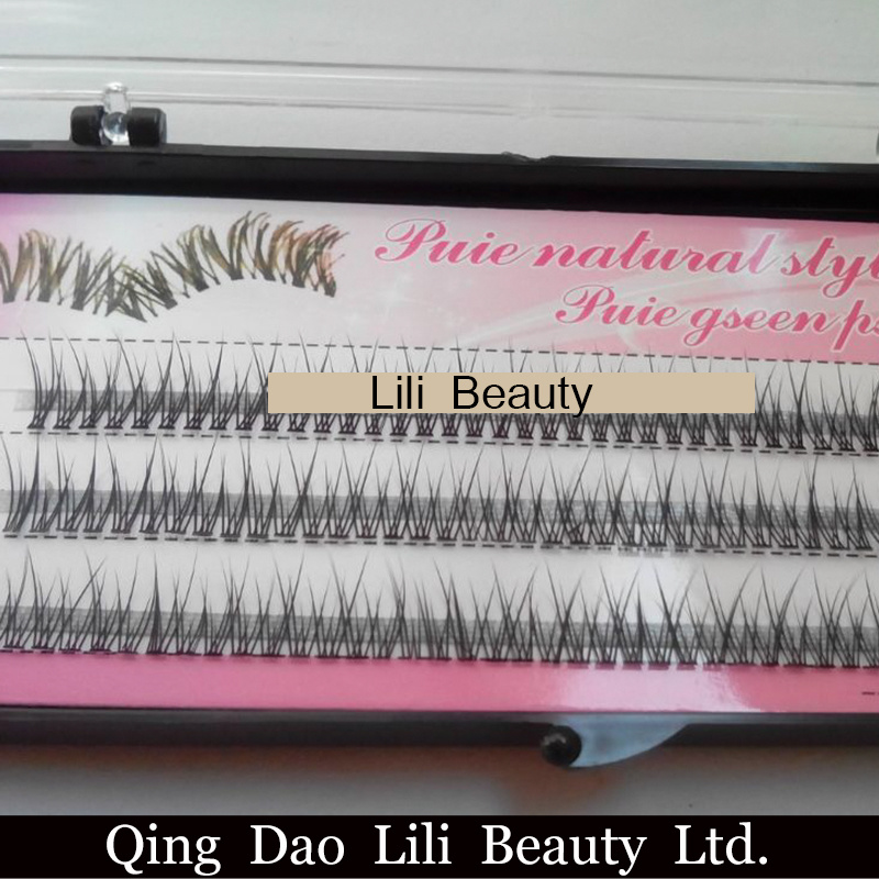 China Lili Beauty Wholesale Costom Individual Korean False Lash