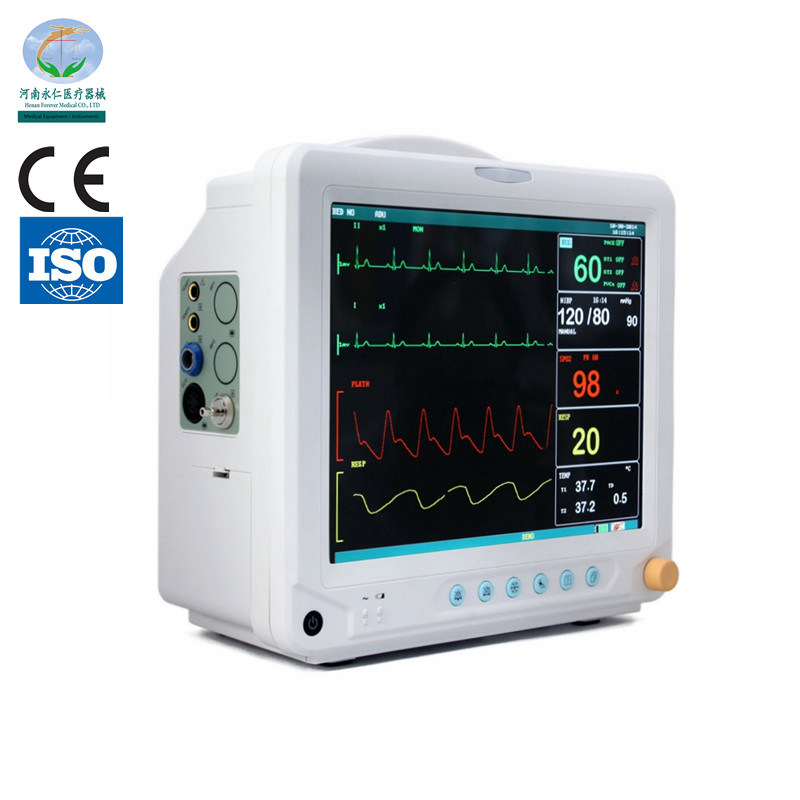 Cheap Medical 12.1 Inches Multi Parameter Patient Monitor pictures & photos