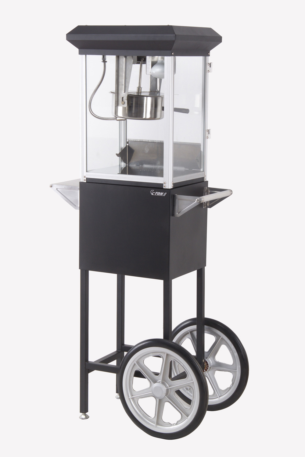 CE Approved 6oz Commercial Small Popcorn Machine with Cart