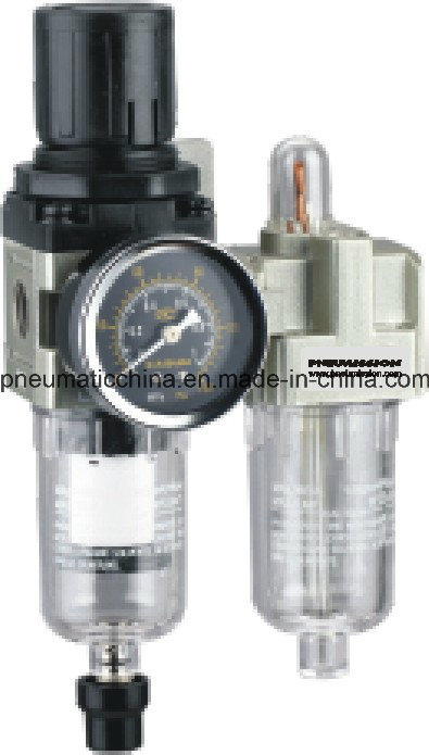 Filter Regulator+Lubricator AC1010-AC5010 Series Air Source Treatment Unit pictures & photos