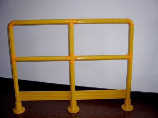 FRP/GRP/Fiberglass Handrail Systems for Stairs, Walkways
