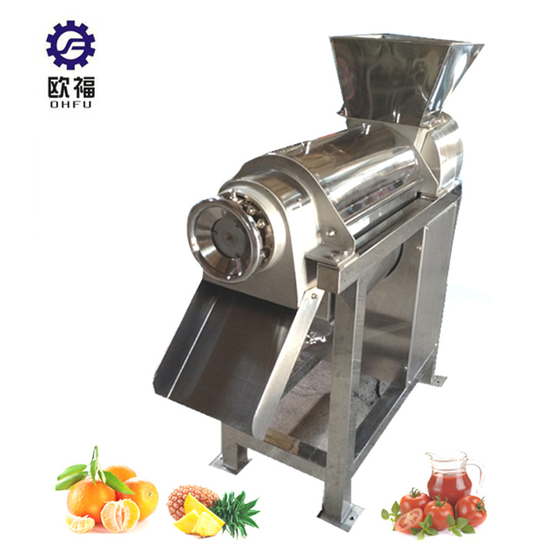 China Industrial Screw Type Vegetable Cold Press Apple Juicer
