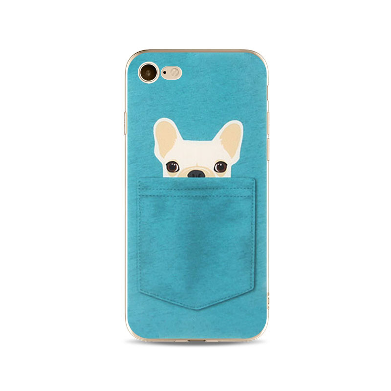 0a6e573a3f China Mobile Phone Accessories Soft TPU Print Animal Case for iPhone 6  Pocket Cat Pocket Dog Phone Case Ypf65 - China iPhone Case, Cell Phone Cover