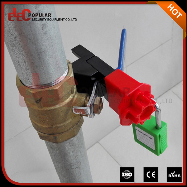 Elecpopular New Products 2016 Safety Ball Valve Lockout for Small Ball Gate