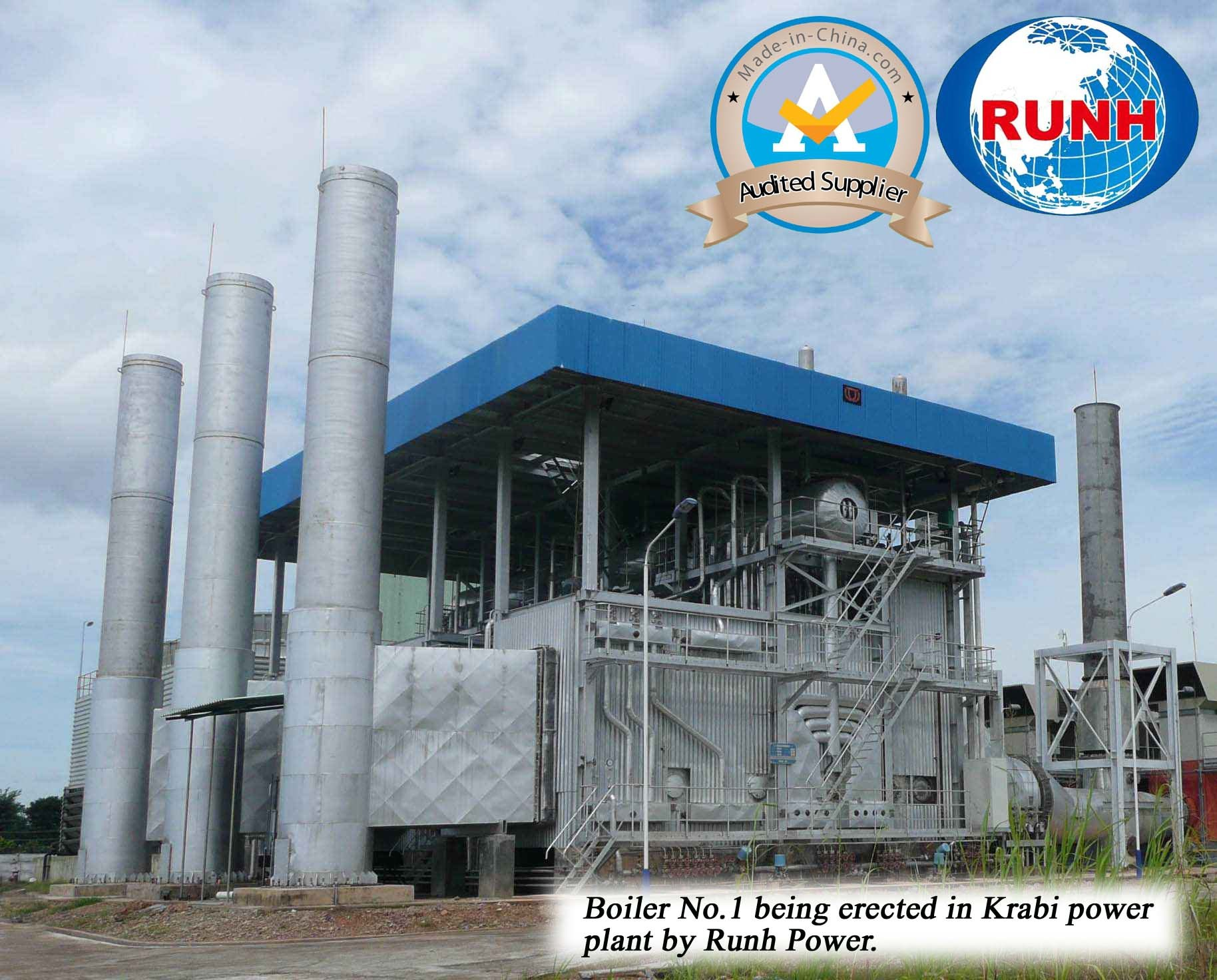 China Biomass-Firing Circulating Fluidized Bed Steam Boiler for ...