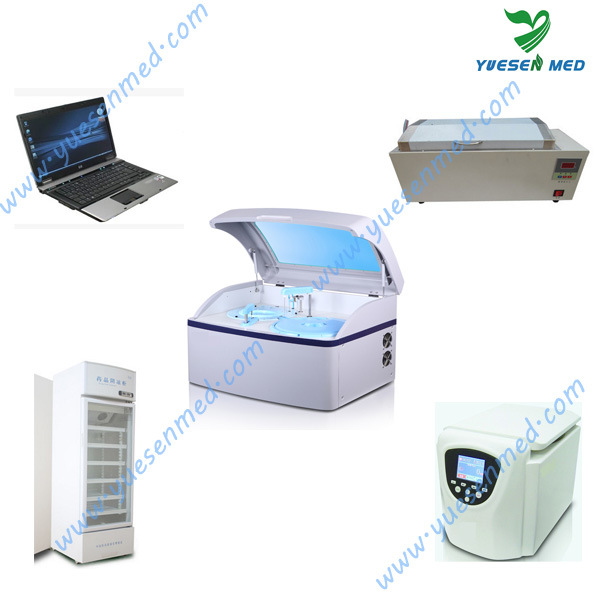 Yste180c Medical Fully Automatic Blood Chemistry Analyzer pictures & photos