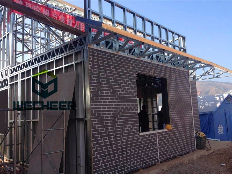 Ce SGS ISO Standard Low Price Light Steel Structure Building Material