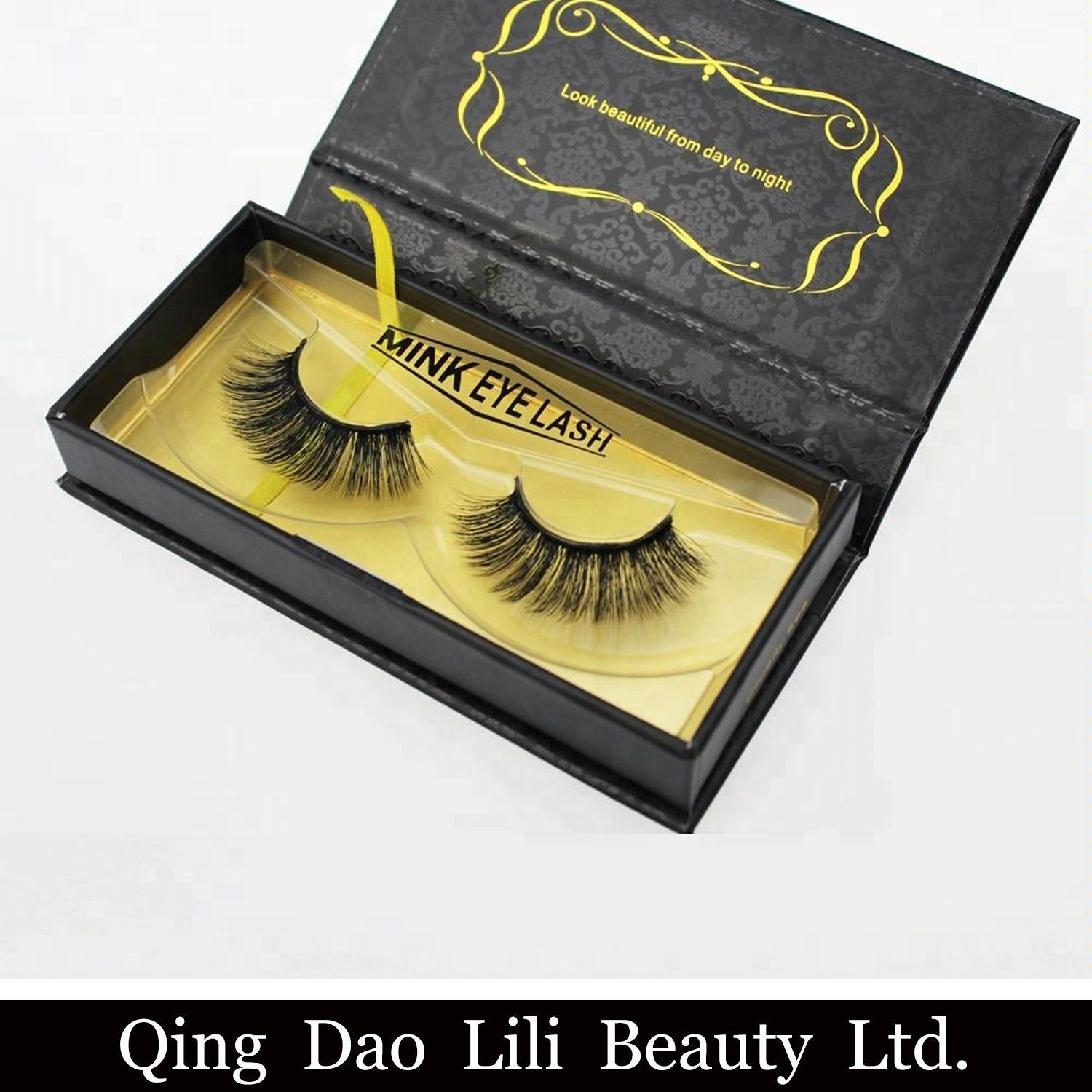 a313af1eea1 Create Your Own Brand 3D Mink Eyelashes False Silk Synthetic Eye Lashes  Private Label Custom Packaging Box Faux 3D Mink Lashes