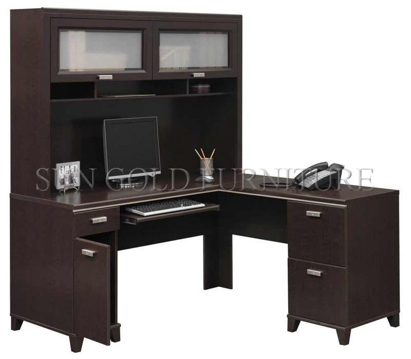China Modular U Shape Wooden Study Table Design With