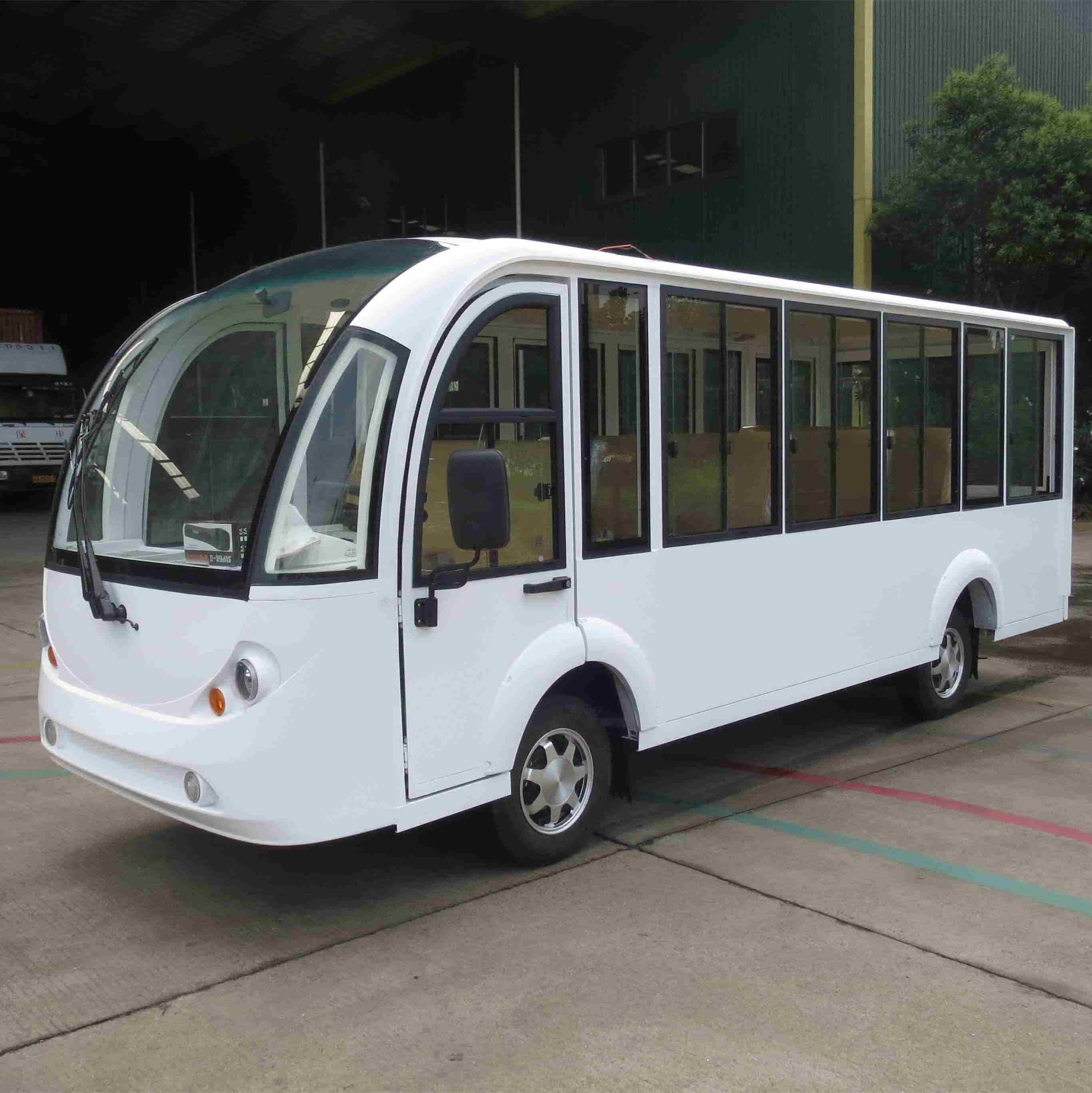 Electric Shuttle Bus Eg6158kf with Air-Conditioner pictures & photos