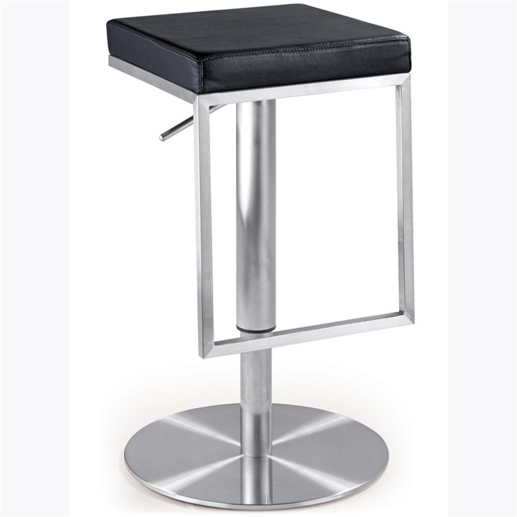 Pleasing Hot Item Height Adjustable High Bar Stool With Chrome Steel Chair Base Sp Bs366 Evergreenethics Interior Chair Design Evergreenethicsorg