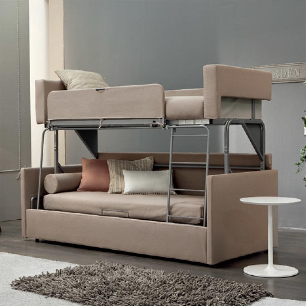 - China Hotel Room Space Saving Foldable Bed Sleeper Folding Bunk
