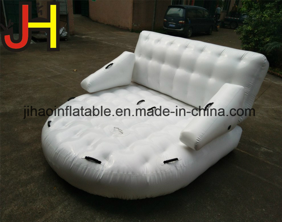 Peachy Hot Item High Quality Durable White Inflatable Water Sofa For Sale Evergreenethics Interior Chair Design Evergreenethicsorg